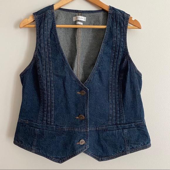 Van Heusen Women's Denim Jean Vest